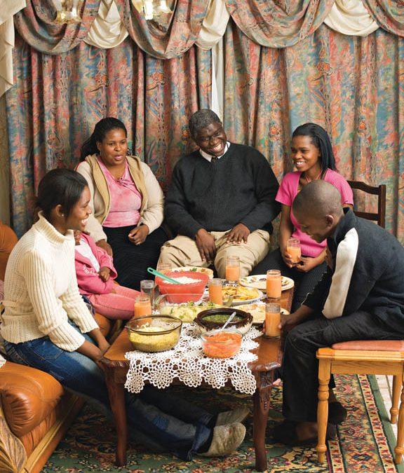 La famille mormone