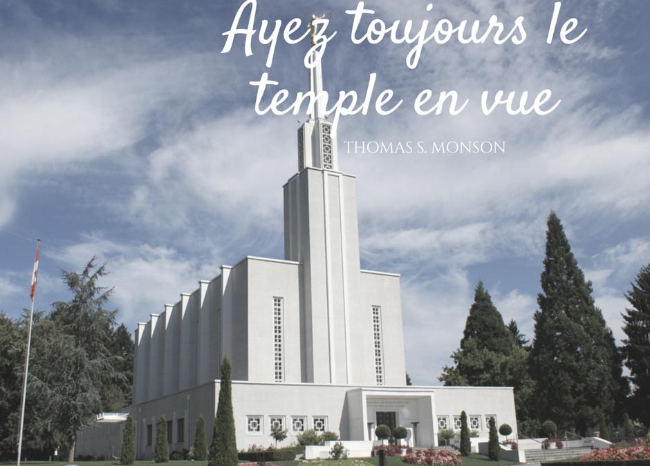 6 façons d'améliorer votre expérience du temple